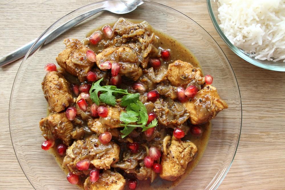 Khoresh Fensenjan Iranian Persian food