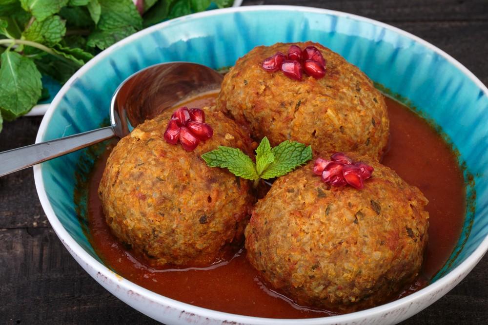 Persian Food Kufte Tabrizi