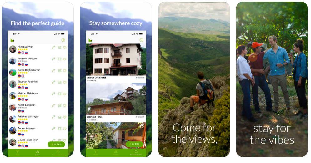 HikeArmenia app