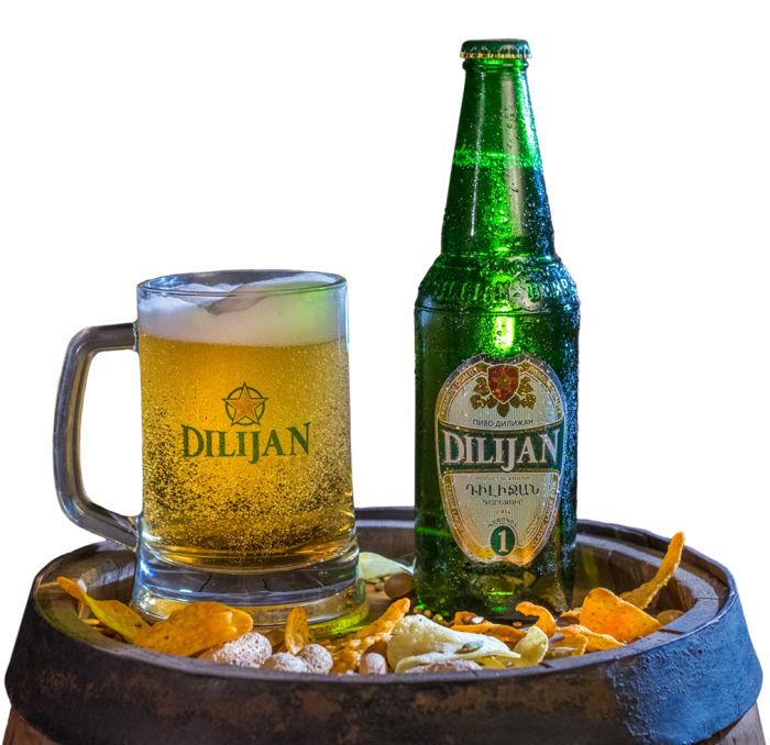 Dilijan Armenian beer