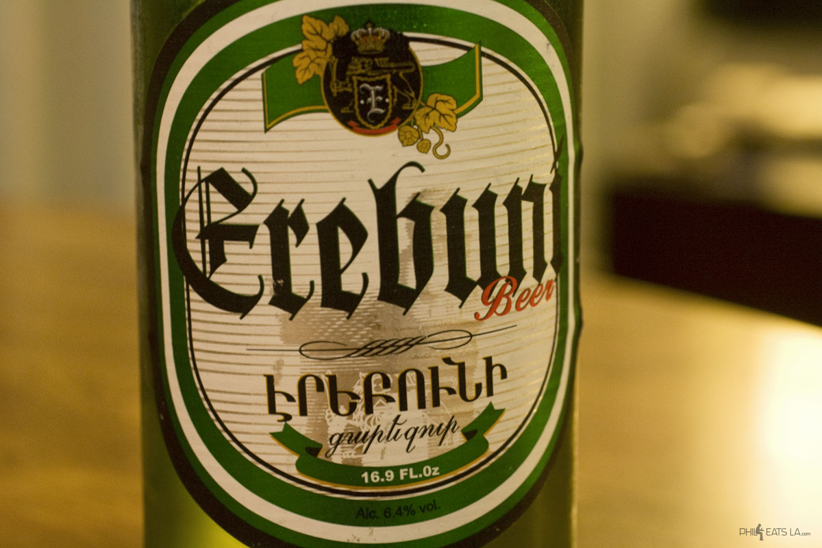 Erebuni Armenian beer