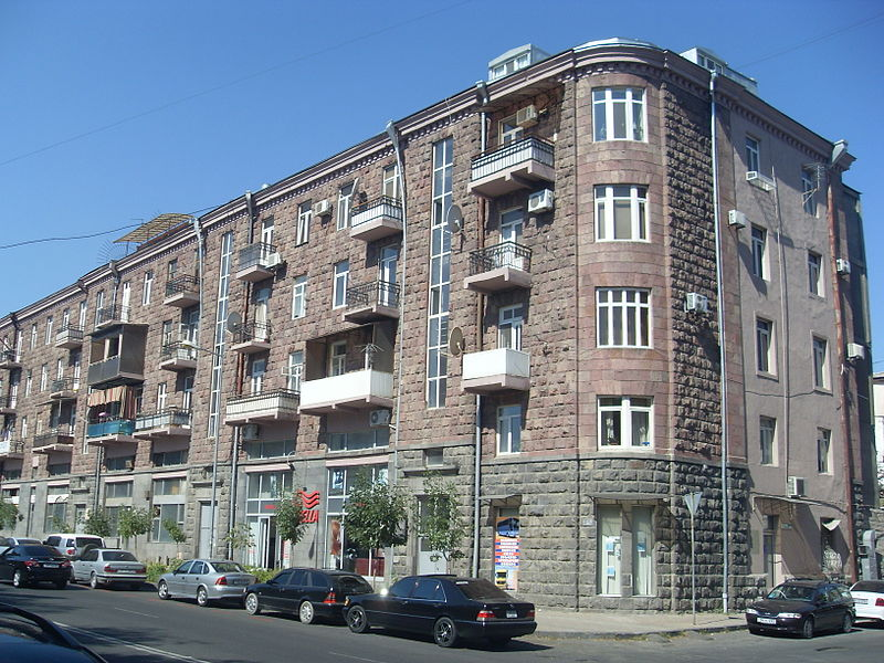 A stone building in Yerevan
