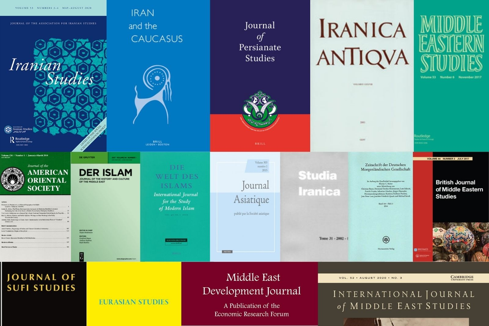 Journals in Iranian Studies