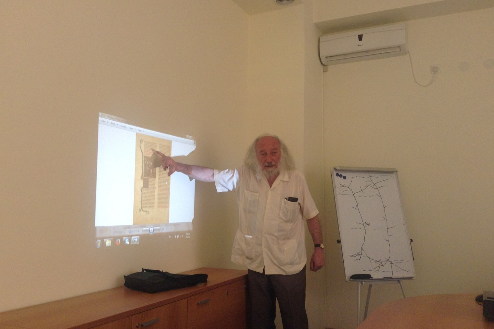 Claude Mutafian about Armenian queens of Jerusalem - Armenian studies summer school 2014