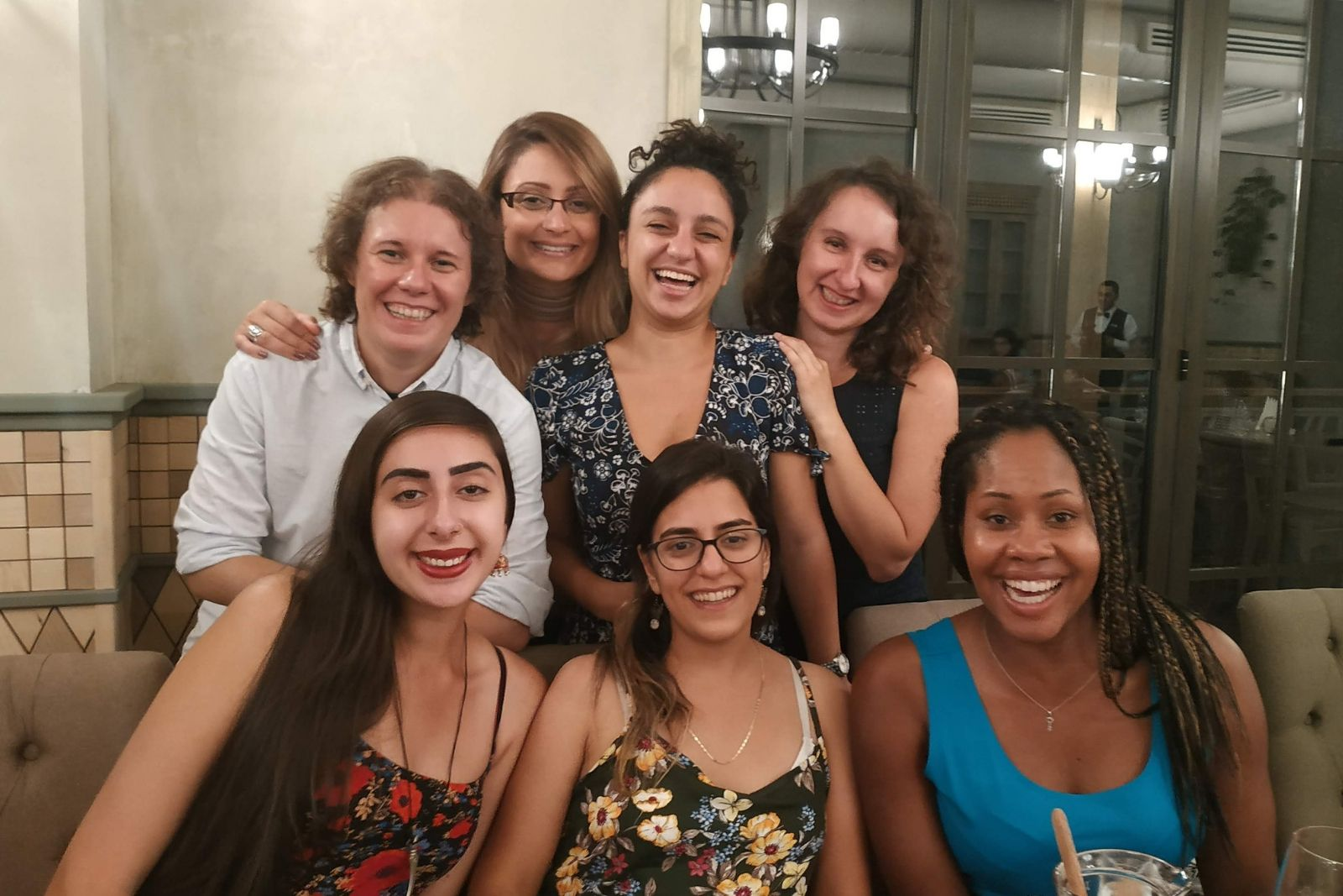 Graduation dinner during Persian language summer school 2018