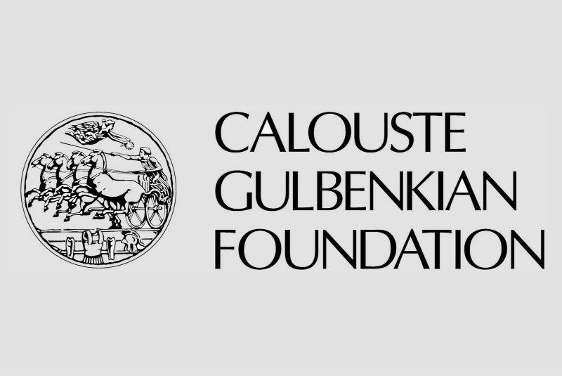 Scholarship provider: Logo: Calouste Gulbenkian Foundation