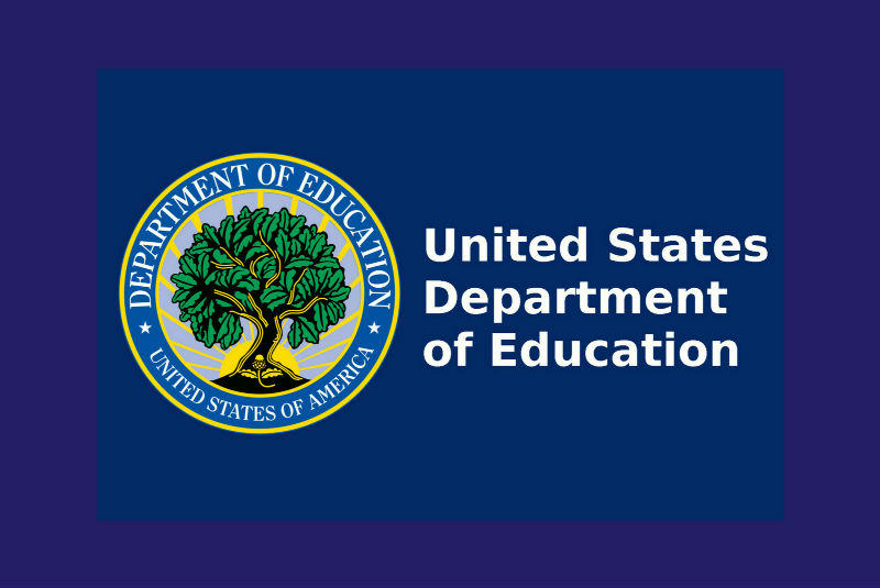Scholarship provider: Logo: United States Department of Education